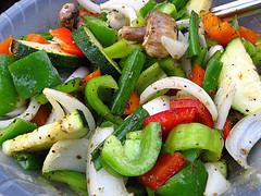 marinade those veggies!