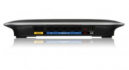 The Cisco-Linksys E2000 Wireless N Router (Back)
