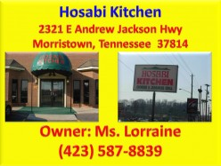 Ask DJ Lyons: Favorite meal at Hosabi Kitchen in Morristown Tennessee