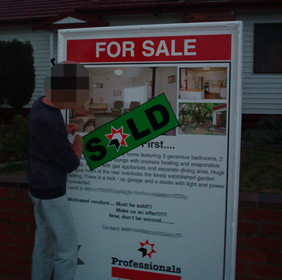 Sold successfully