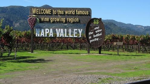 Napa Valley. Photo by WeinakademieBerlin (flickr)