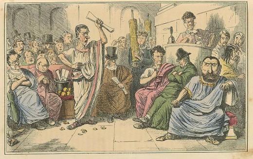 Cicero denouncing Cataline