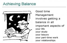 Achieve a Balance in Time Management