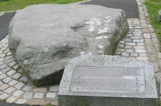 St Patricks Grave, Downpatrick