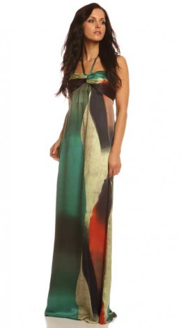 Empire Line Maxi with Delicious Colour Mix