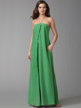 Simple Maxi Dress Hanging from the Bust