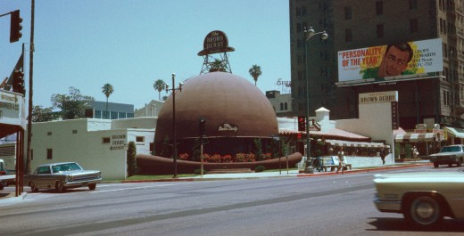 Brown Derby Restaurant, Hollywood, CA