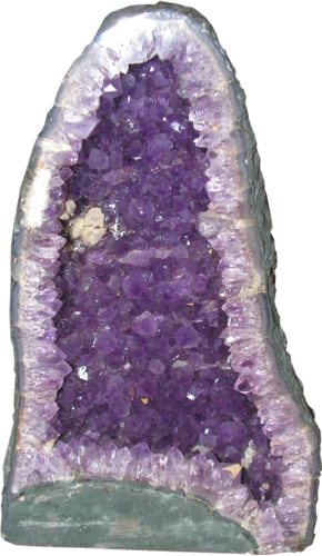 An amethyst cathedral