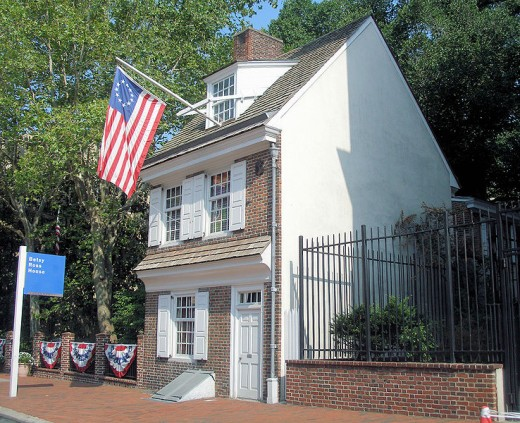 Betsy Ross House.