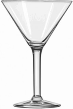 A short history of the martini glass