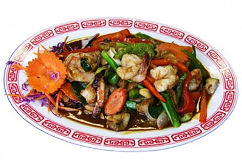 - Easy Stir Fry Recipes - SHRIMP WITH MIXED PEPPERS Recipe -