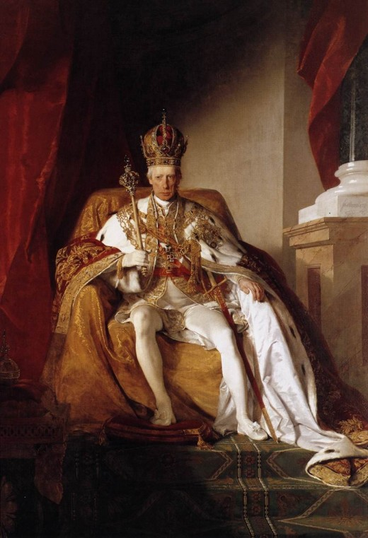 The good Emperor Franz -- Francis II- Last Emperor of the Holy Roman Empire, aka Francis I of Austria, post holy Roman Empire