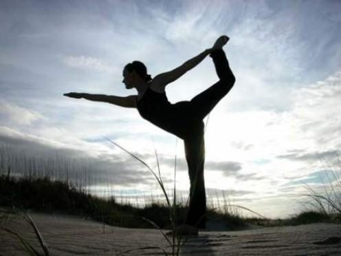 Light yoga practice
