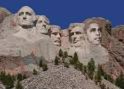 Obama's face carved into Mt. Rushmore. What do you think?