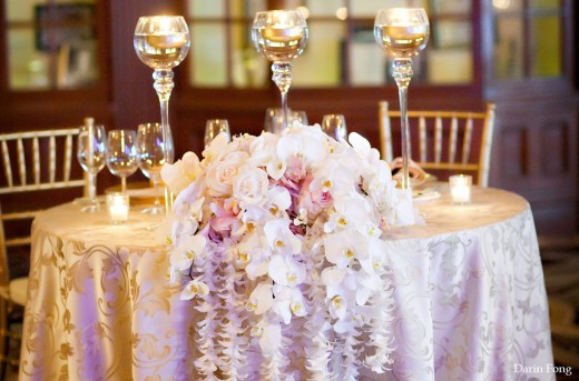 Wedding Sweetheart Table Design Ideas