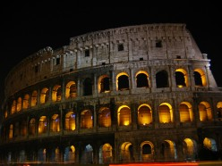 The Coliseum at night. Photo by kjtittle84 (flickr)