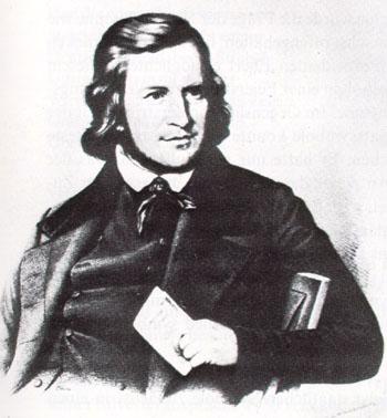 """August Heinrich Hoffman von Fallersleben wrote the lyrics """"Deutschland, Deutschland uber alles"""""""