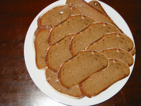 Rye Melba Toast