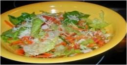 Delicious Salad using Romaine Lettuce