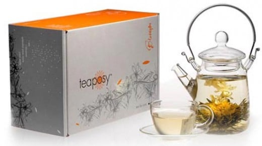 Teaposy Blossom Blooming Tea Romancing Gift Set