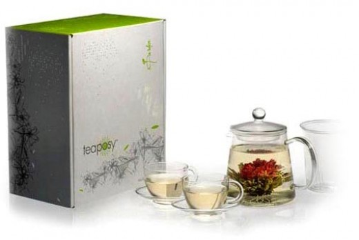 Teaposy Garden Blooming Tea Gift Set for Her