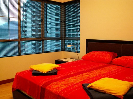 A bedroom in Kuala Lampur.. stunning..
