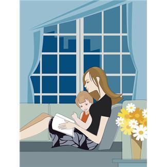 Bedtime rituals help to foster healthy children