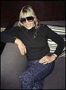 Middle-aged Anita Pallenberg