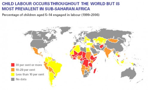 Every 1 in a 6 children, is a 'Child Labor'