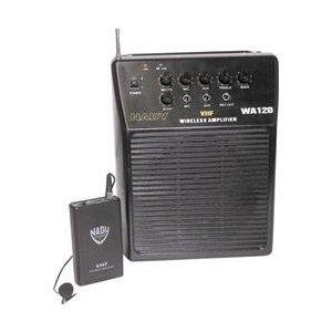 Nady WA-120LT/B Portable Wireless Public Address System with Lavaliere Mic