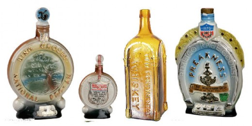 Jim Beam Decanters and Collectible Bottles for Whiskey Whisky and Liquor