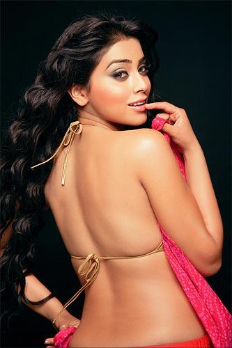 Actress, model, and philanthropist Shriya.
