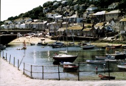 Mousehole - the quaint beauty of an old fishing village in Cornwall.