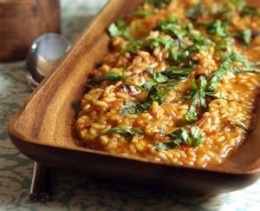 Risotto is not one of the easy dishes to make but know you can make it super simple just by using the mocrowave.