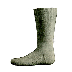 Knitted Tennis Sock