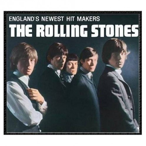 Cover for the Rolling Stones first album