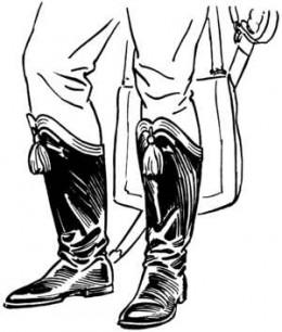 Hessian boots