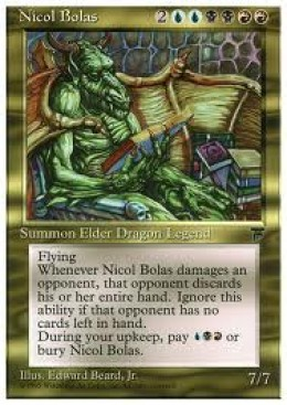 Elder Dragon Nicol Bolas