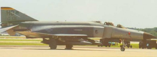 F-4F from Holloman AFB seen at an airshow in Pittsburgh