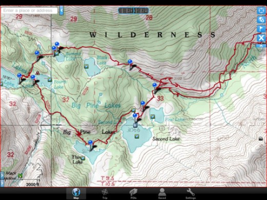 Gaia GPS gives you some of the most detailed maps.
