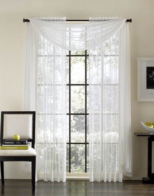 Lightweight Sheer Curtain Fabric