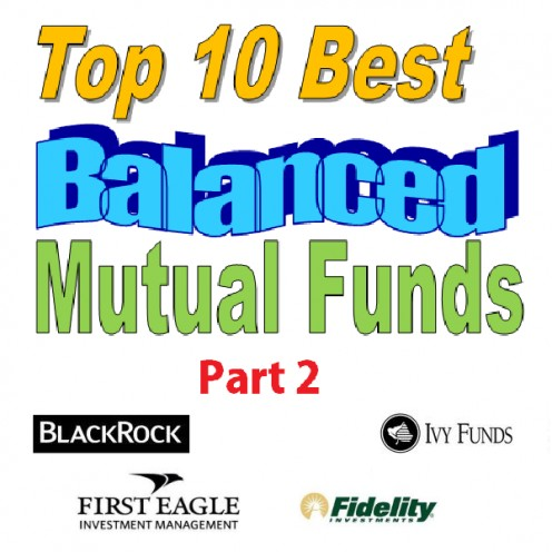 Top 10 best balanced funds logo