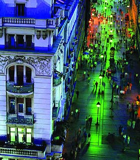 Belgrade City Knez Mihailova Street