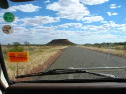 45. Australian Road Trip - Port Hedland to Exmouth - Dust in the Blue Desert