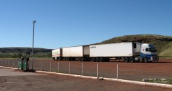 Roadtrain at Fortesque River Roadhouse