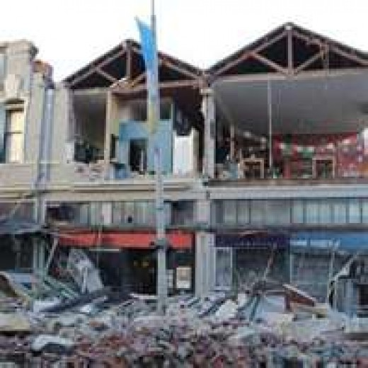 DEVASTATING EARTHQUAKE HITS CHRISTCHURCH NEW ZEALAND