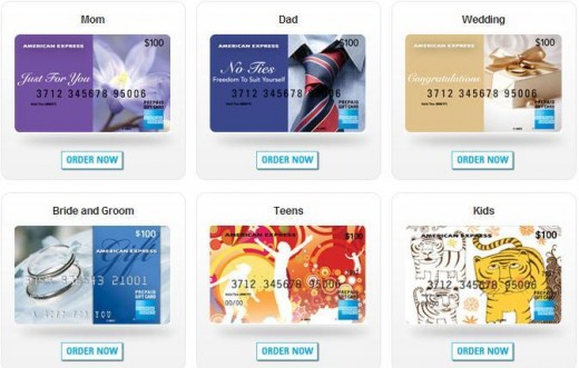 American Express Personal Gift Cards