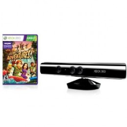 The Kinect comes with a free copy of Kinect Adventures