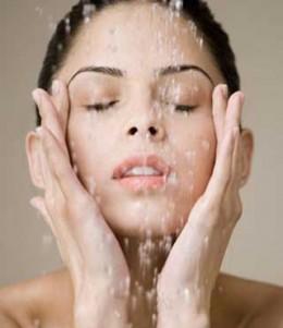 Clean skin.