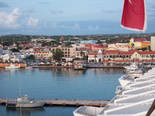 Leaving Curacao